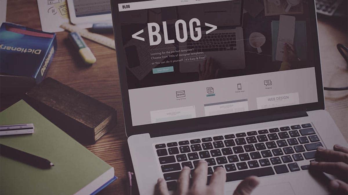 Postando blogs